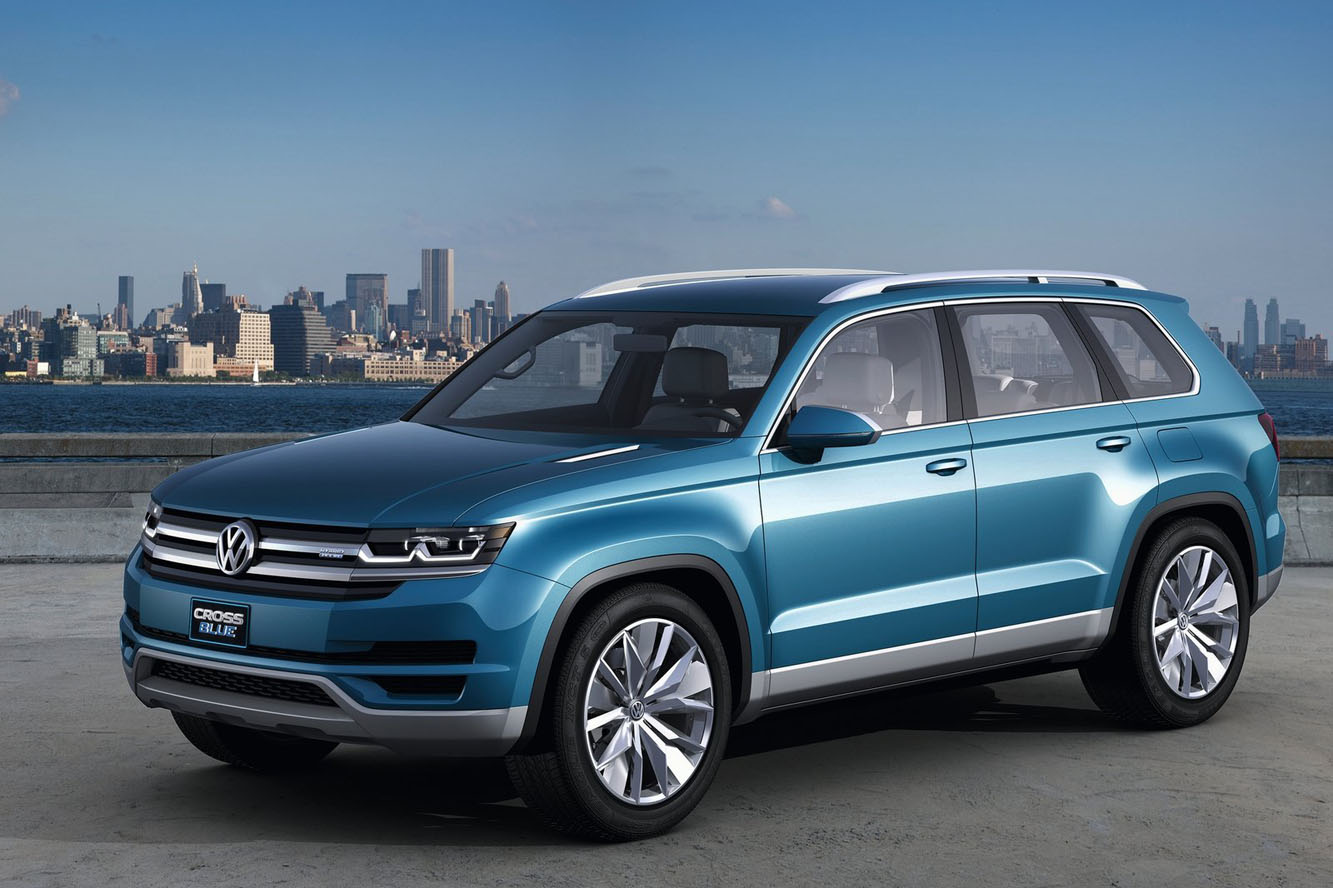touareg 4x4 volkswagen crossblue hybride diesel au programme. Black Bedroom Furniture Sets. Home Design Ideas